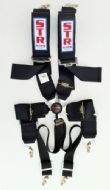 6 Point Harness with Aircraft Buckle - Various Colours